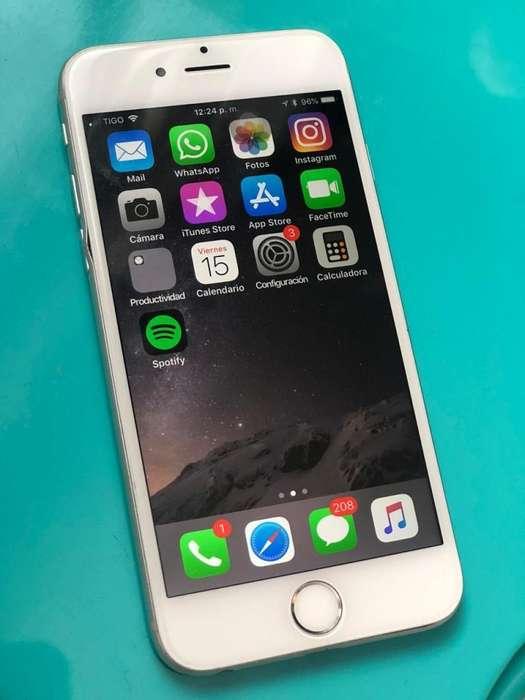iPhone 6 16GB Silver excelente estado 9/10