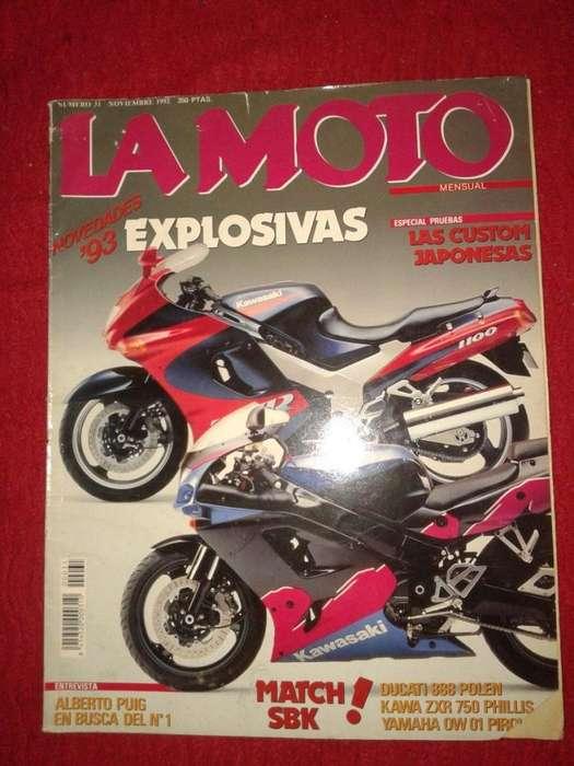La Moto Novedades 93 Custon Japonesa Nov 1992 tengo otras