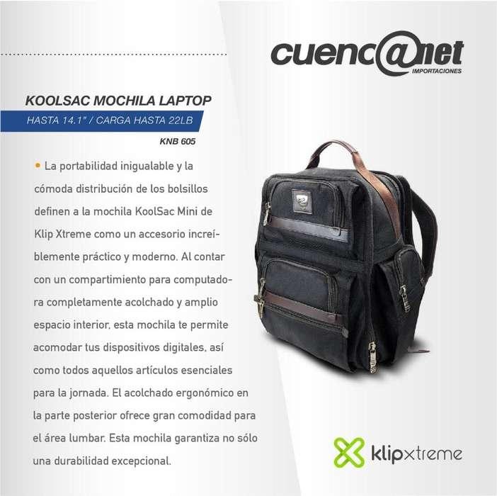 "Koolsac Mochila Laptop Klipxtreme 14.1"" Knb 605"