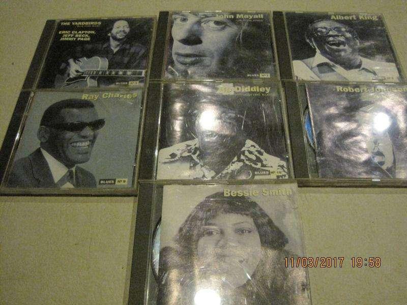 lote de cds de Blues
