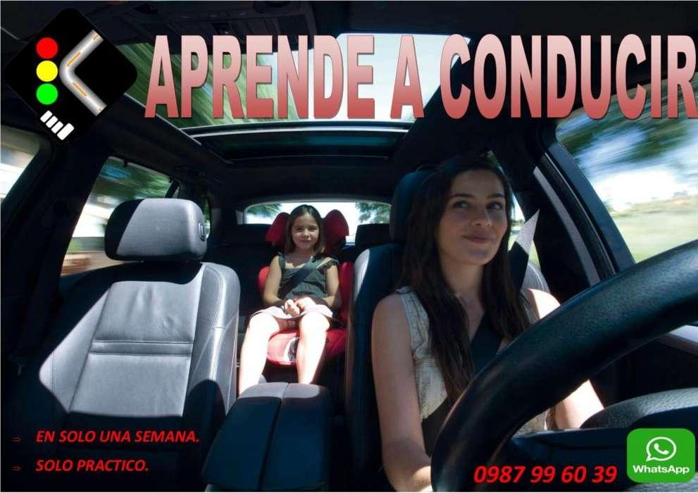 CURSOS DE CONDUCCIÓN Y MANEJO DE AUTOS SOLO PRÁCTICOS.