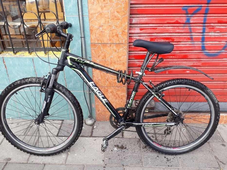 Bicicleta Montañera de Aluminio.
