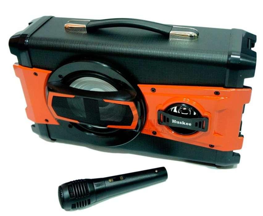 Cabina Portátil Recargable Bluetooth Karaoke Usb Radio Fm Sd