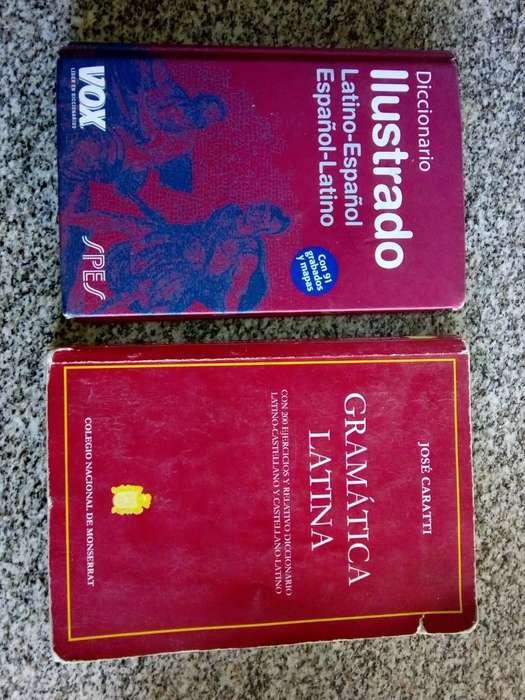 Vendo Diccionario de Latin Y Gramatica