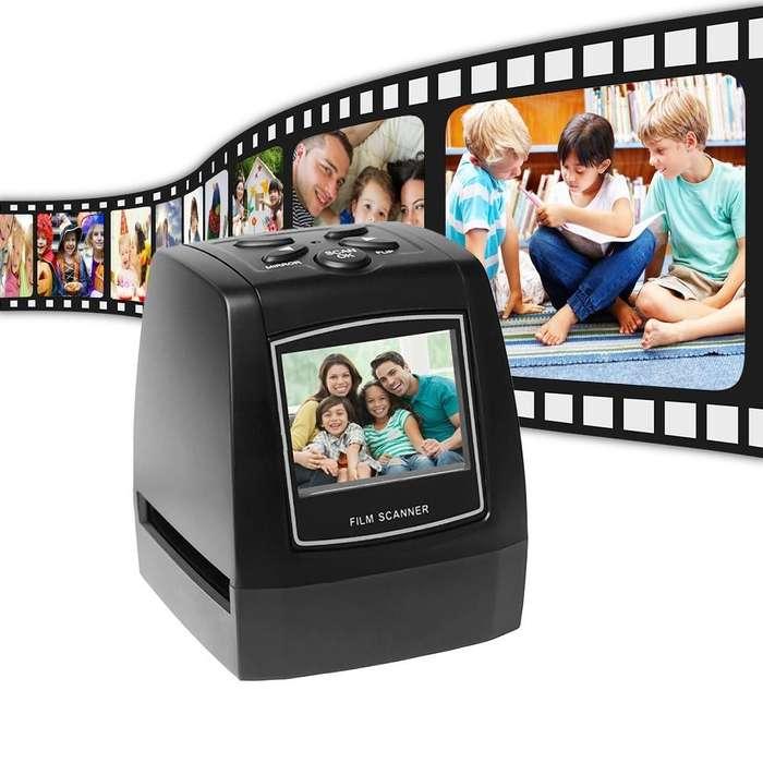 Digitalizador, escáner de negativos 35mm, 130mm