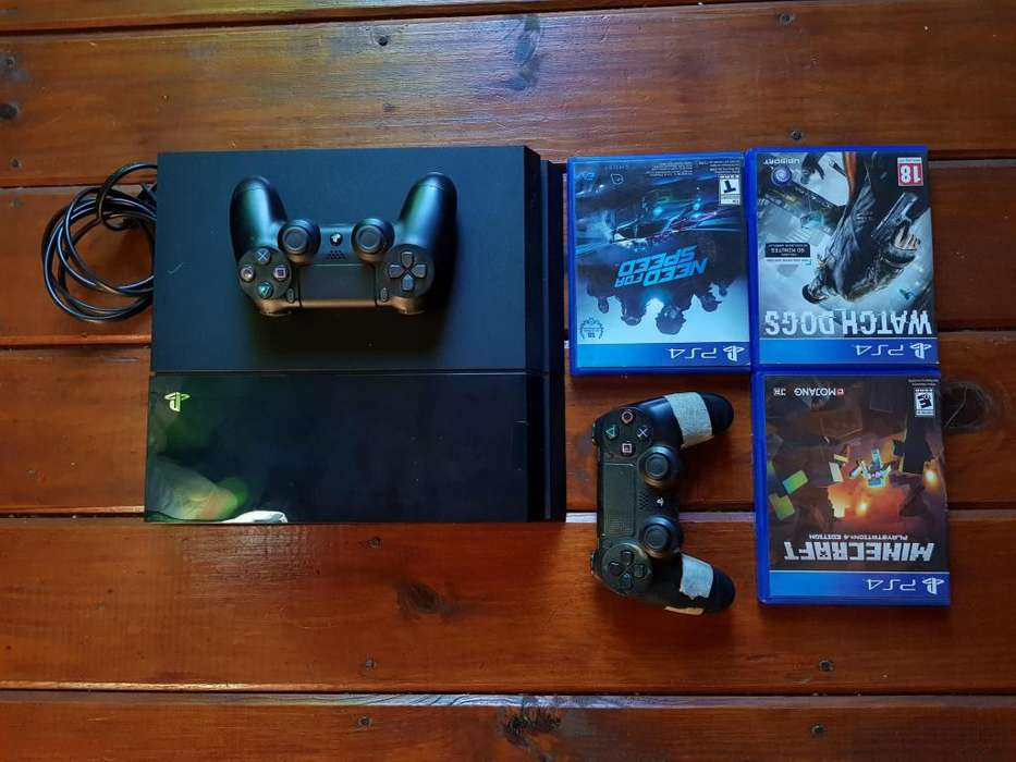 PS4 en CUOTAS 4 juegos 1 mando