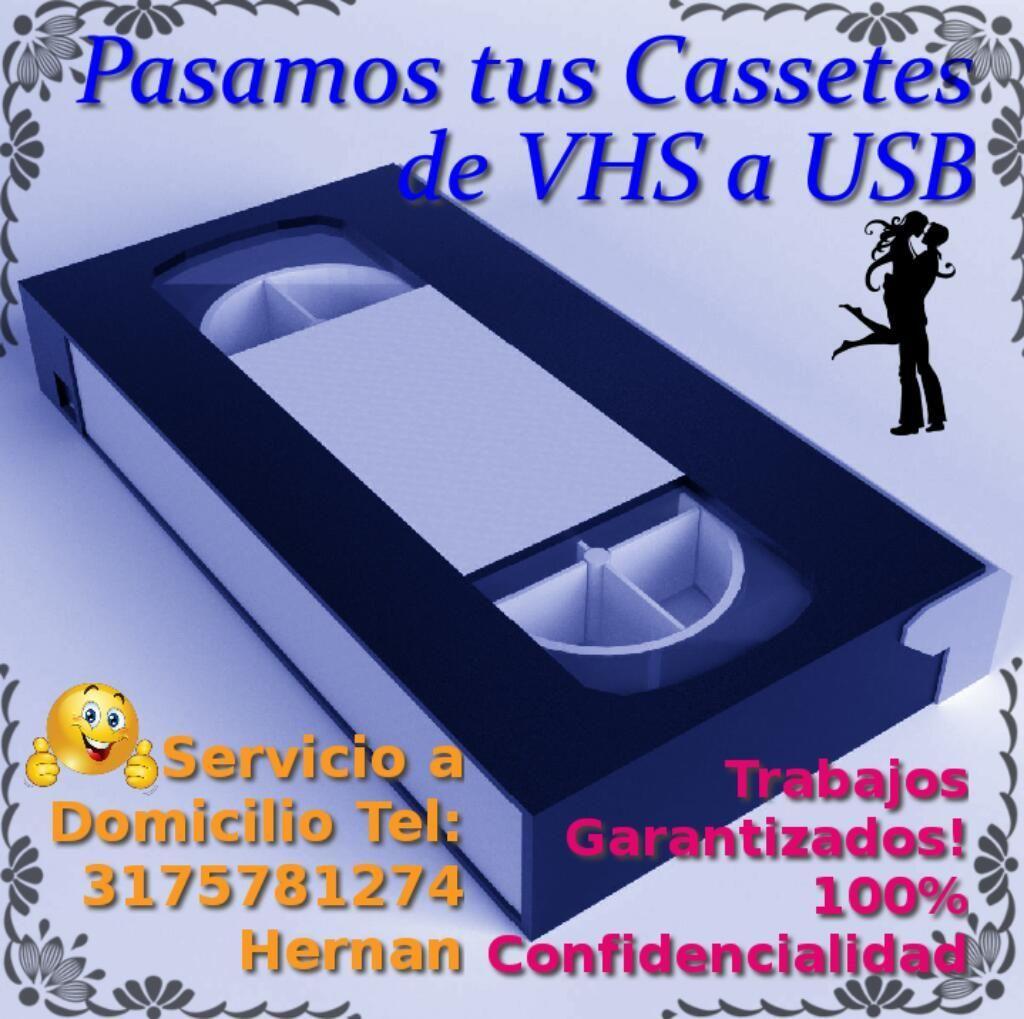 Convertimos Cassette Vhs a Video Digital