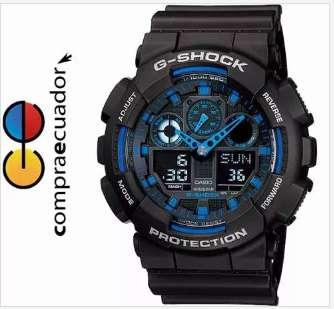 <strong>casio</strong> Reloj G shock Ga100 Led Resistecia Magnética Nuevos!