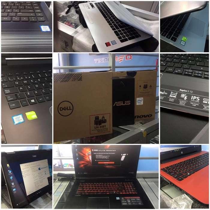 Laptops de varios modelos en oferta DELL LENOVO HP