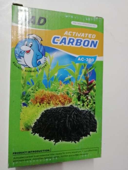 Carbón Activo para Acuario