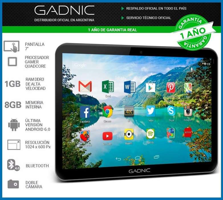 Tablet Pc Gadnic 7 Ultra Hd