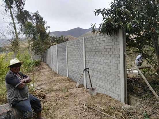Cercos Premoldeados de Concreto en Asia de 2.5m