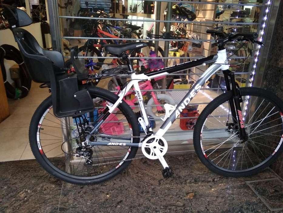 Bici 29 Discos Suspensión Nueva Garantía