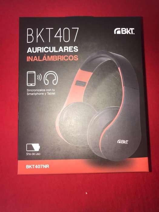 Auriculares Inalambricos Bkt407