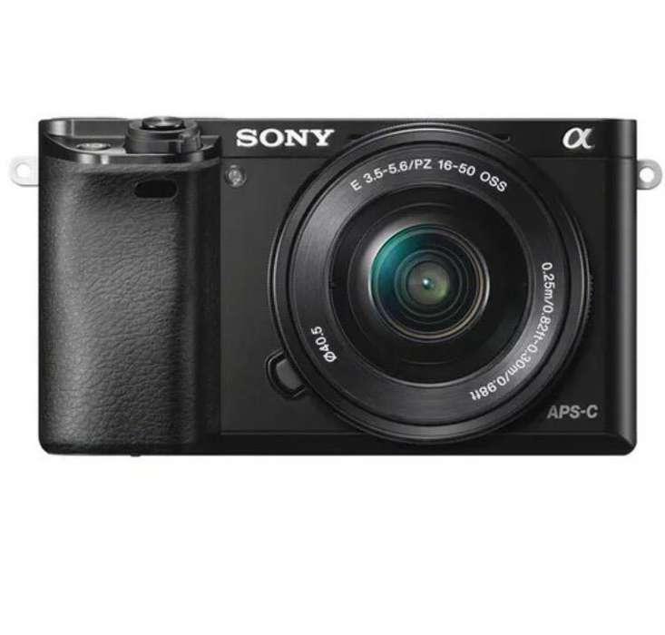 Camara Sony Alpha A6000 Mirrorless