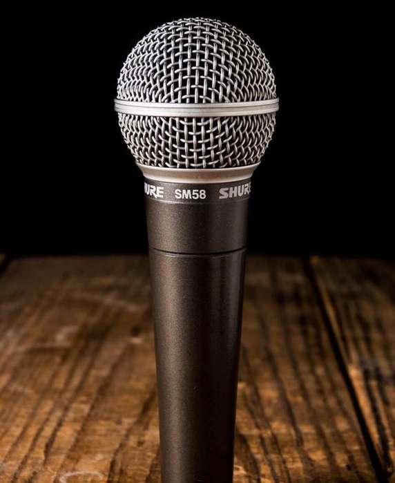 Microfonos Shure Sm58 Profesionales Dj