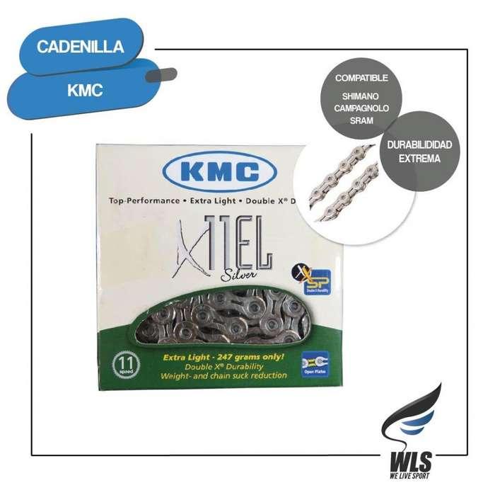 Cadena Kmc 11v X11el Silver