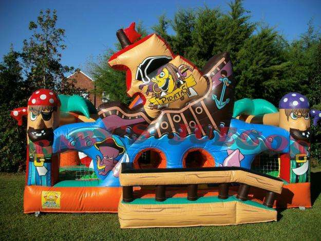 Inflable Barco Pirata