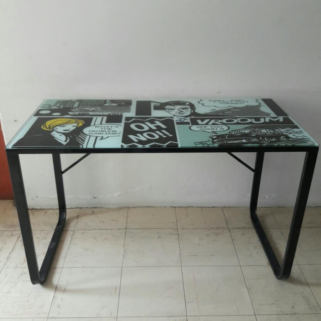 Mesa Escritorio con Diseño