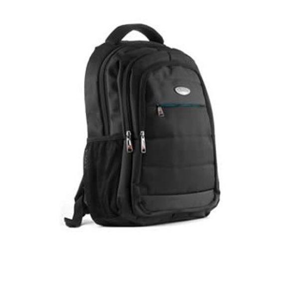 Mochila Para Notebook Quasad 100% Nylon 15.6 Negra