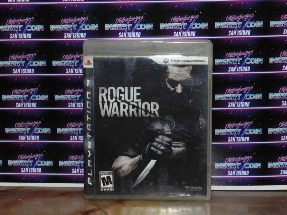 Rogue Warrior PS3 Juego Play Station 3