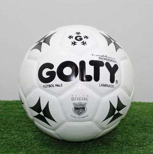 Balón fútbol golty competition N5 blanco