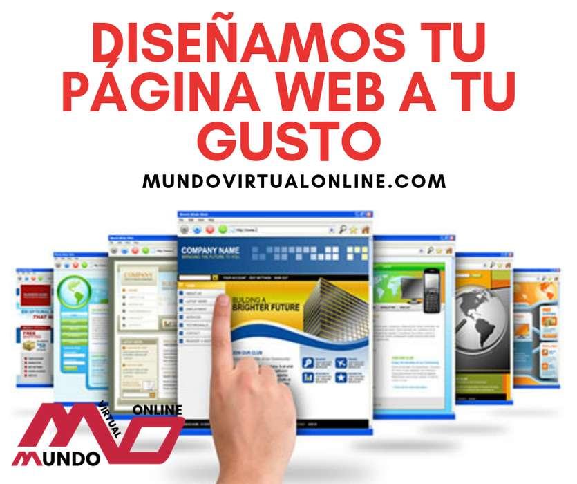 Diseñamos tu página web a tu gusto
