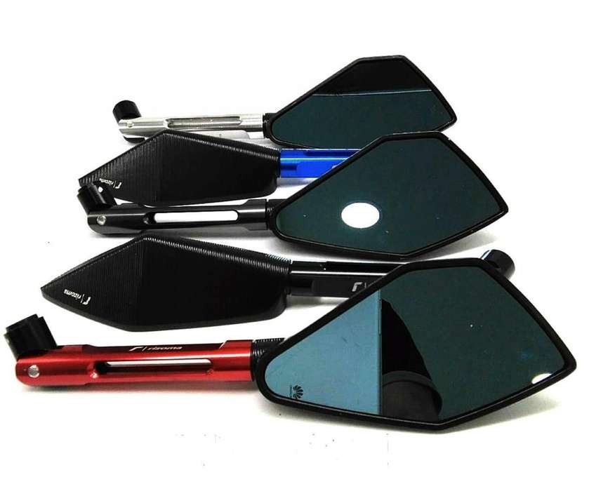 Espejos de Lujo Rizoma para moto