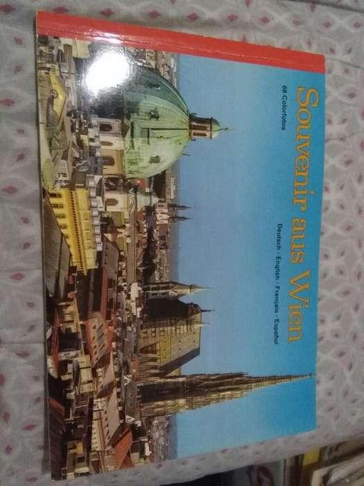 Souvenir Aus Wien 68 Fotos color Viena Austria librito turistico 1980