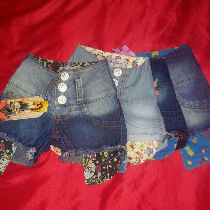 Shorts de Jeans Nena