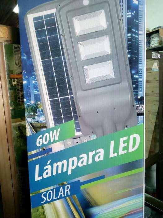 LAMPARA LED PARA EXTERIORES EN POSTE