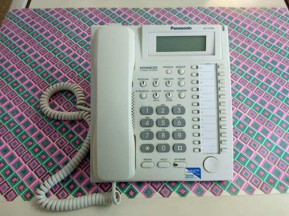 Telefono Panasonic Programador Inteligente Kx-t7735