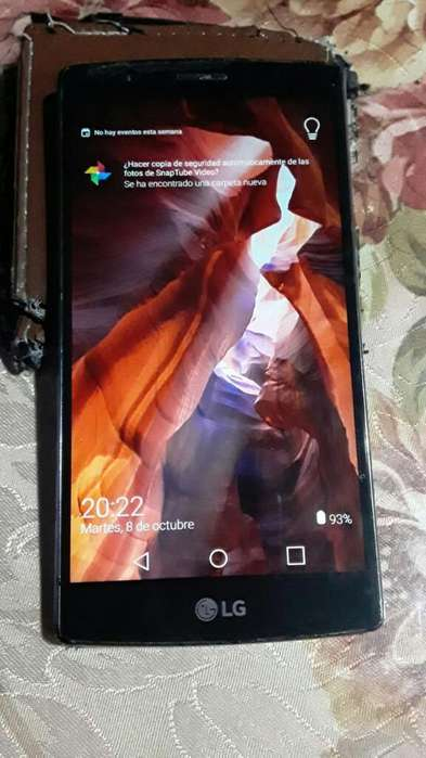 Lg G4 32 Gb Libre Impecable Tapa