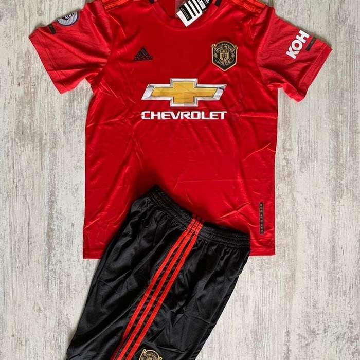 Uniformes de futbol Manchester United