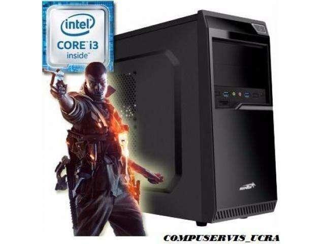 Pc Armada Gamer Intel Core i3 7100 3,9GHz Asus Gt730 4Gb Ddr3 Hdmi 4Gb/Ddr4 1Tb W.D. Gtia