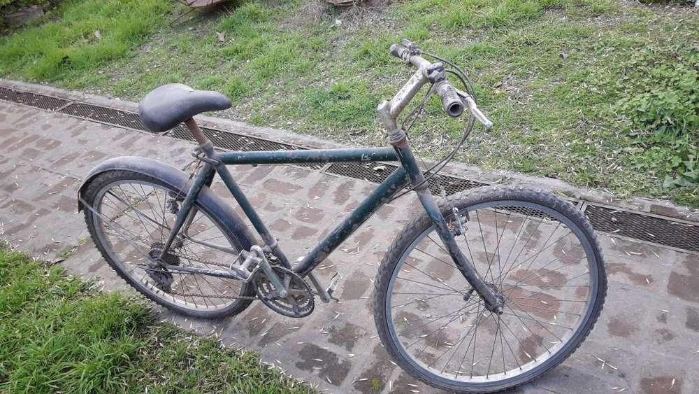 Bicicleta usada rodado 26 con 18 cambios como se ve
