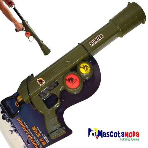 Pistola lanza pelotas varios modelos para jugar con el perro
