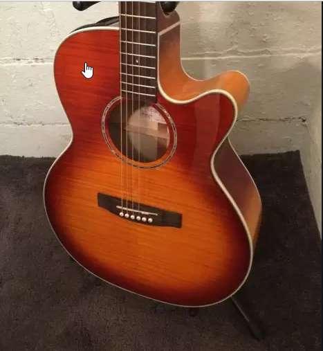 Guitarra electro acústica takamine eg444cvv
