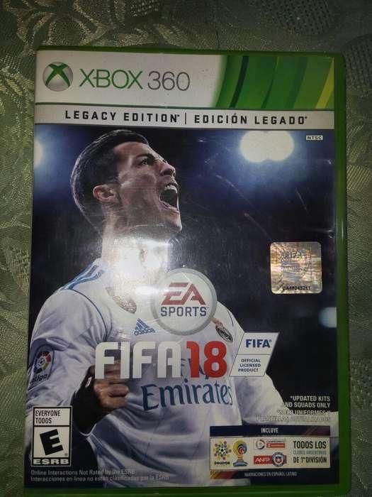 Vendo Fifa 18 para Xbox 360 Original