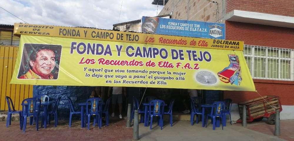 Se Vende Canchas de Tejo Y Bar en Mesita
