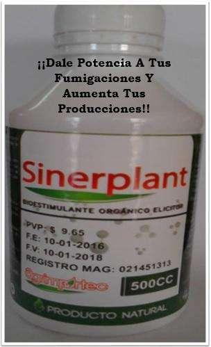 SINERPLANT Bioestimulante y Potencializador