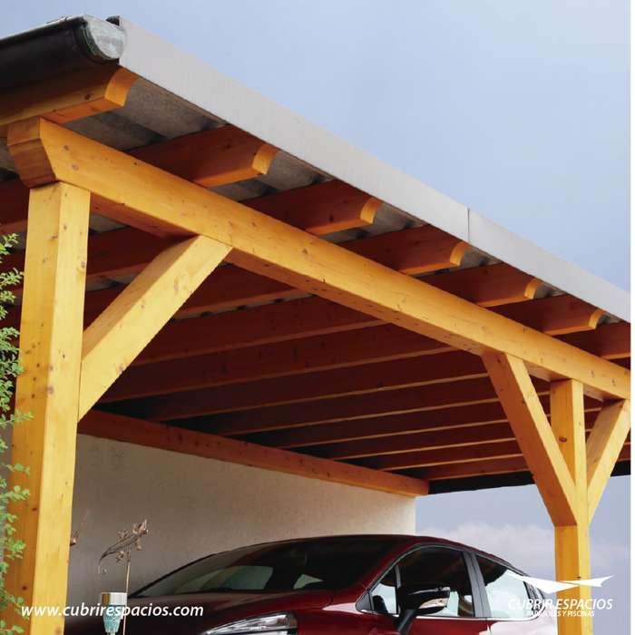 Cubiertas especiales, parqueaderos, techos en policarbonato