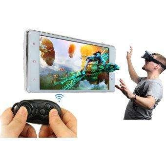 Lentes Gafas Realidad Virtual Cardboard Vr Headset Vr Box 2g con Control Remoto