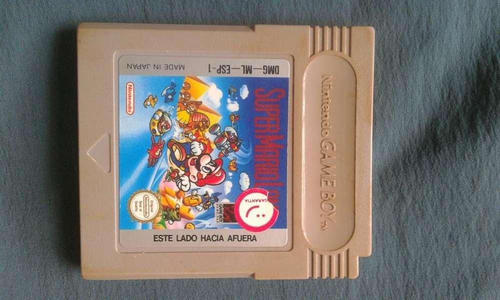 Juego Game Boy _ Mario Antiguo.