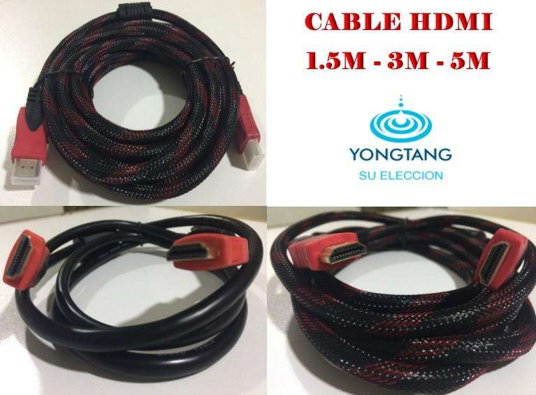 CABLES HDMI 1.5M 3M 5M 10M YONGTANG