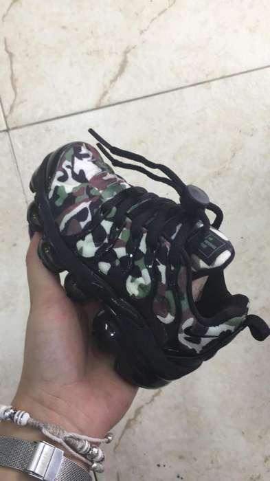 Tenis zapatillas nike vapormax plus para niños