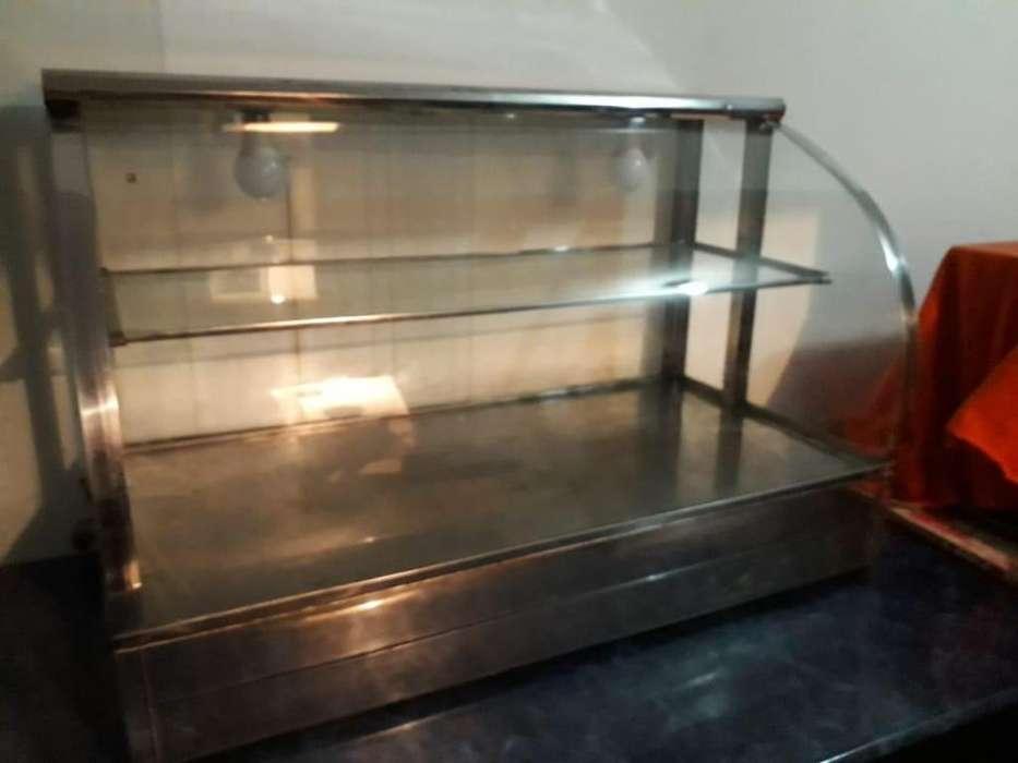 Vitrina Para Fritos Con Calefacción A Gas