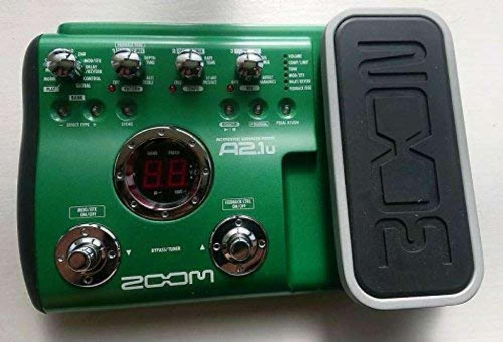 Pedalera Zoom A2.1u para Guitarra Acusti