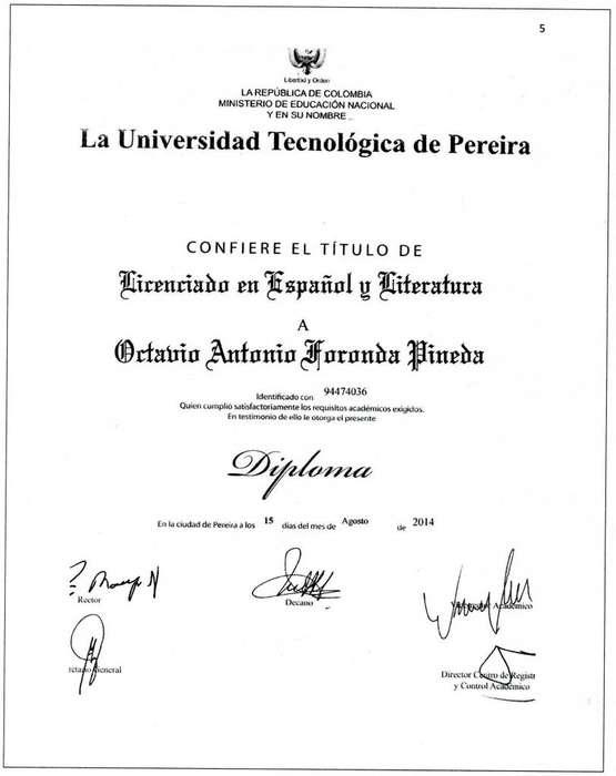 PROFESOR, ESPAÑOL Y LITERATURA ANTONIO