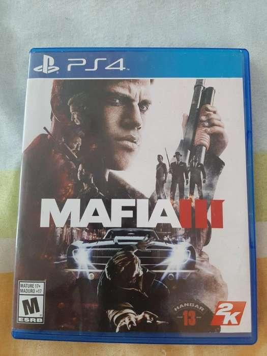 Vendo Mafia 3 Ps4